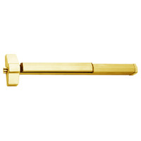7150FP-48-605 Yale 7000 Series Fire Rated SquareBolt Exit Device with Electric Latch Pullback in Bright Brass