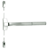 7110FP-24-619 Yale 7000 Series Fire Rated Surface Vertical Rod Exit Device with Electric Latch Pullback in Satin Nickel