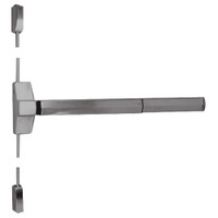 7110FP-24-630 Yale 7000 Series Fire Rated Surface Vertical Rod Exit Device with Electric Latch Pullback in Satin Stainless Steel