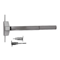 7120FP-24-630 Yale 7000 Series Fire Rated Concealed Vertical Rod Exit Device with Electric Latch Pullback in Satin Stainless Steel
