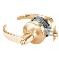 PB4725LN-612 Yale 4700LN Series Non Keyed Privacy Cylindrical Lock with Pacific Beach Lever in Satin Bronze