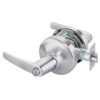 MO4725LN-626 Yale 4700LN Series Non Keyed Privacy Cylindrical Lock with Monroe Lever in Satin Chrome
