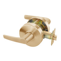 MO4601LN-612 Yale 4600LN Series Non Keyed Passage or Closet Cylindrical Lock with Monroe Lever in Satin Bronze