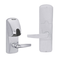 AD200-MD-40-MG-ATH-GD-29R-626 Schlage Privacy Mortise Deadbolt Magnetic Stripe(Insert) Lock with Athens Lever in Satin Chrome