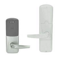 AD200-MD-60-MT-ATH-GD-29R-619 Schlage Apartment Mortise Deadbolt Multi-Technology Lock with Athens Lever in Satin Nickel