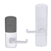 AD200-MD-60-MT-TLR-GD-29R-625 Schlage Apartment Mortise Deadbolt Multi-Technology Lock with Tubular Lever in Bright Chrome
