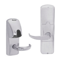 AD250-MD-40-MG-SPA-GD-29R-626 Schlage Privacy Magnetic Stripe(Insert) Lock with Sparta Lever in Satin Chrome