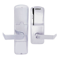 AD250-MD-60-MS-RHO-GD-29R-626 Schlage Apartment Magnetic Stripe(Swipe) Lock with Rhodes Lever in Satin Chrome