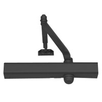 """3301-693 Yale 3000 Series Architectural Door Closer with Regular Parallel and Top Jamb to 3"""" Reveal in Black"""