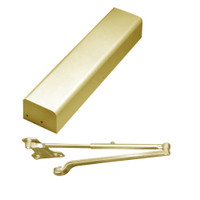 PR3511-696-LH Yale 3000 Series Architectural Door Closer with Parallel Rigid Arm in Satin Brass