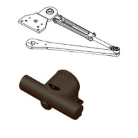 PA1915/6-690-RH Yale 1900 Series Traditional Surface Door Closer with Parallel Arm in Dark Bronze