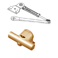 PA1915/6-691-RH Yale 1900 Series Traditional Surface Door Closer with Parallel Arm in Light Bronze