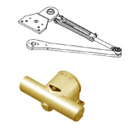 PA1915/6-696-RH Yale 1900 Series Traditional Surface Door Closer with Parallel Arm in Satin Brass