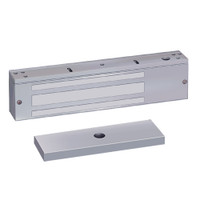 1581QDB SDC 1580 Series 650lb Holding Force Single EM Magnetic Door Lock with Door Position and Magnetic Bond Sensor in Dull Chrome
