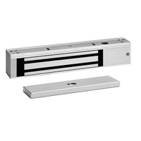 E600 SDC Excel Series Value Engineered Magnetic Locks 600lb Holding Force with Door Status Locked Status and LED in Clear Anodized Aluminum