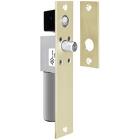 1091ADLIDD SDC Dead Locking FailSafe Spacesaver Mortise Bolt Lock with Door Position Sensor in Dull Brass