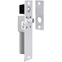 1091ADLIPB SDC Dead Locking FailSafe Spacesaver Mortise Bolt Lock with Bolt Position Sensor in Bright Chrome