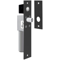 1490AIYB SDC Fits 1-1/2 inche Frame Non UL FailSafe Spacesaver Mortise Bolt Lock with Bolt Position Sensor in Black