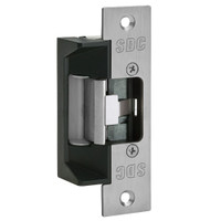 45-4RVK SDC 45 Series Field Selectable Multi-Frame-Application Electric Strike with Keeper Open/Closed Status in Satin Aluminum