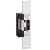 45-6RVK SDC 45 Series Field Selectable Multi-Frame-Application Electric Strike with Keeper Open/Closed Status in Satin Aluminum