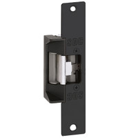 45-6RYK SDC 45 Series Field Selectable Multi-Frame-Application Electric Strike with Keeper Open/Closed Status in Black Anodized