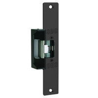 45-7RYK SDC 45 Series Field Selectable Multi-Frame-Application Electric Strike with Keeper Open/Closed Status in Black Anodized