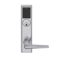 LEMS-ADD-P-05-626 Schlage Storeroom Wireless Addison Mortise Lock with LED and 05 Lever in Satin Chrome