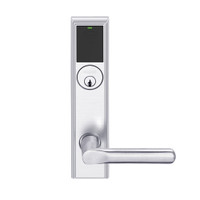 LEMS-ADD-P-18-625 Schlage Storeroom Wireless Addison Mortise Lock with LED and 18 Lever in Bright Chrome