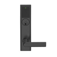 LEMB-ADD-P-01-622 Schlage Privacy/Office Wireless Addison Mortise Lock with Push Button, LED and 01 Lever in Matte Black