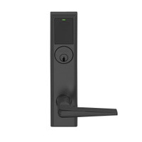 LEMB-ADD-P-05-622 Schlage Privacy/Office Wireless Addison Mortise Lock with Push Button, LED and 05 Lever in Matte Black