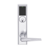 LEMB-ADD-P-05-625 Schlage Privacy/Office Wireless Addison Mortise Lock with Push Button, LED and 05 Lever in Bright Chrome