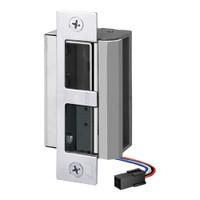 55-FP-LBM/LCM-DBM-R SDC 55 Series UniFLEX Heavy Duty Electric Strike with Door Secure Monitor and Deadbolt Monitor in Bright Chrome