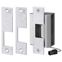 55-ABCP-LBM/LCM SDC 55 Series UniFLEX Universal Strike - Multi Application Pack Electric Strike with Door Secure Monitor in Bright Chrome