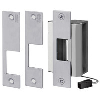 55-ABCQ-LBM/LCM SDC 55 Series UniFLEX Universal Strike - Multi Application Pack Electric Strike with Door Secure Monitor in Dull Chrome