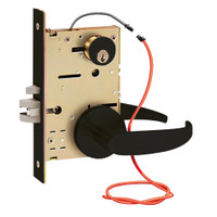 Z7852RHG SDC Z7800 Selectric Pro Series Locked Outside Sides Failsecure Electric Mortise Lock in Oil Rubbed Bronze