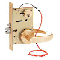 Z7852LRGG SDC Z7800 Selectric Pro Series Locked Outside Sides Failsecure Electric Mortise Lock in Satin Bronze