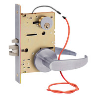 Z7852LRQG SDC Z7800 Selectric Pro Series Locked Outside Sides Failsecure Electric Mortise Lock in Satin Chrome
