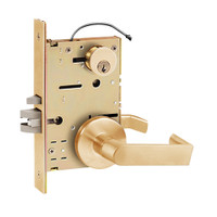 Z7852RGE SDC Z7800 Selectric Pro Series Locked Outside Sides Failsecure Electric Mortise Lock with Eclipse Lever in Satin Bronze