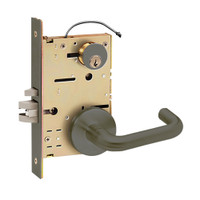 Z7852RRHN SDC Z7800 Selectric Pro Series Locked Outside Sides Failsecure Electric Mortise Lock with Nova Lever in Oil Rubbed Bronze