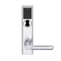 LEMD-ADD-BD-18-625 Schlage Privacy/Apartment Wireless Addison Mortise Deadbolt Lock with LED and 18 Lever Prepped for SFIC in Bright Chrome