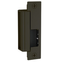 1500-DLMS-613E Hes 1500 Series Heavy Duty Electric Strike Bodies with Dual Lock Monitor and Strike Monitor in Dark Oxidized Satin Bronze