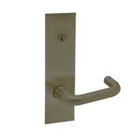 Z7852LRHNE SDC Z7800 Selectric Pro Series Locked Outside Sides Failsecure Electric Mortise Lock with Nova Lever in Oil Rubbed Bronze