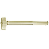 ED5200S-606-W048-M92 Corbin ED5200 Series Non Fire Rated Exit Device with Touchbar Monitoring in Satin Brass Finish
