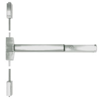 ED5400-619-W048-MELR-M92 Corbin ED5400 Series Non Fire Rated Vertical Rod Exit Device with Motor Latch Retraction and Touchbar Monitoring in Satin Nickel Finish