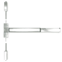 ED5470-618-W048-MELR-M92 Corbin ED5400 Series Non Fire Rated Vertical Rod Exit Device with Motor Latch Retraction and Touchbar Monitoring in Bright Nickel Finish