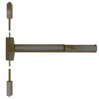 ED5470B-613-W048-MELR-M92 Corbin ED5400 Series Fire Rated Vertical Rod Exit Device with Motor Latch Retraction and Touchbar Monitoring in Oil Rubbed Bronze Finish