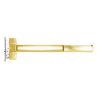 ED5657ATD-605-W048-RHR Corbin ED5600 Series Fire Rated Mortise Exit Device with Delayed Egress in Bright Brass Finish
