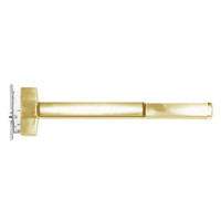 ED5657ATD-606-W048-RHR Corbin ED5600 Series Fire Rated Mortise Exit Device with Delayed Egress in Satin Brass Finish