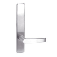 A810-629-LHR Corbin ED4000 Series Exit Device Trim with Passage Armstrong Lever in Bright Stainless Steel Finish