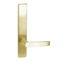 A810-606-RHR Corbin ED4000 Series Exit Device Trim with Passage Armstrong Lever in Satin Brass Finish
